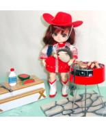 "Mini Backyard BBQ Set fits 5"" to 8"" Dolls BJDs Ai Amelia Thimble Puki Ti... - $284,88 MXN"
