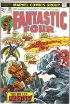The Fantastic Four Comic Book #138 Marvel Comics 1973 FINE - $12.59