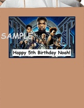 12 Personalized black panther party stickers,birthday,bag box labels,sup... - $7.99