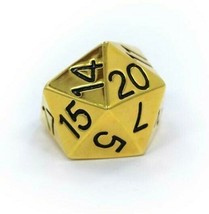 Han Cholo Silver Gold Plated Surgical Stainless Steel His/Her D20 Dice Ring NEW image 2