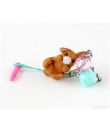 Brown Rabbit Phone Charm Plug, Fairy Kei, Sweet Lolita - $15.00