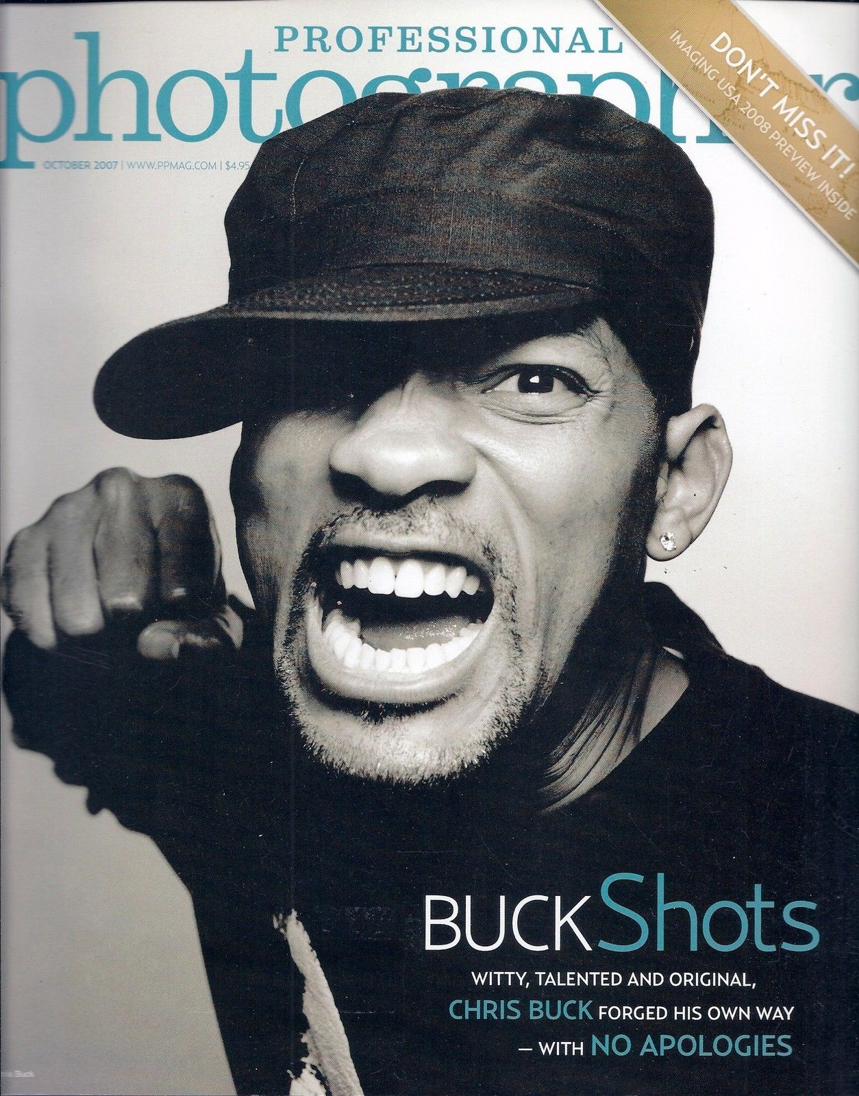 Primary image for Professional Photographer Magazine October 2007 Buck Shots with No Apologies