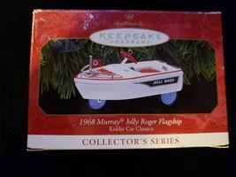 Hallmark Keepsake Ornament Kiddie Car Classic 1968 Murray Jolly Roger Fl... - $9.95