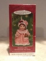 Hallmark Ornament - Mistletoe Miss, 1st In Series - Teddy Bear - QX8092 - $4.95