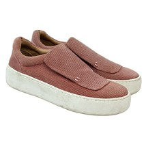Aerosoles PAPER DOLL Womens Size 5.5 Pink Leather Slip-ons Platform Sneakers - $42.56