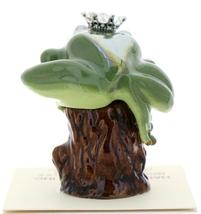 Hagen-Renaker Miniature Tree Frog Figurine Birthstone Prince 04 April Diamond image 3