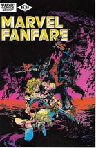 Marvel Fanfare Comic Book #2 Marvel Comics 1982 NEAR MINT NEW UNREAD - $8.79
