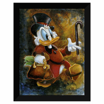 Disney Parks Duck Tales Scrooge Treasure Framed Giclee by Darren Wilson New - $569.98