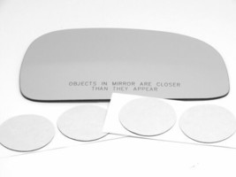 Fits 96-00 Hy Elantra Right Pass Convex Mirror Glass Lens Only w/ Adhesi... - $20.74
