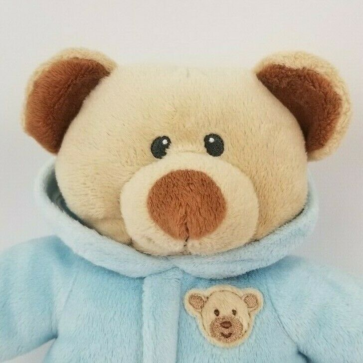 Ty Pluffies Baby Bear Blue Boy Plush Stuffed Toy 2016 image 2