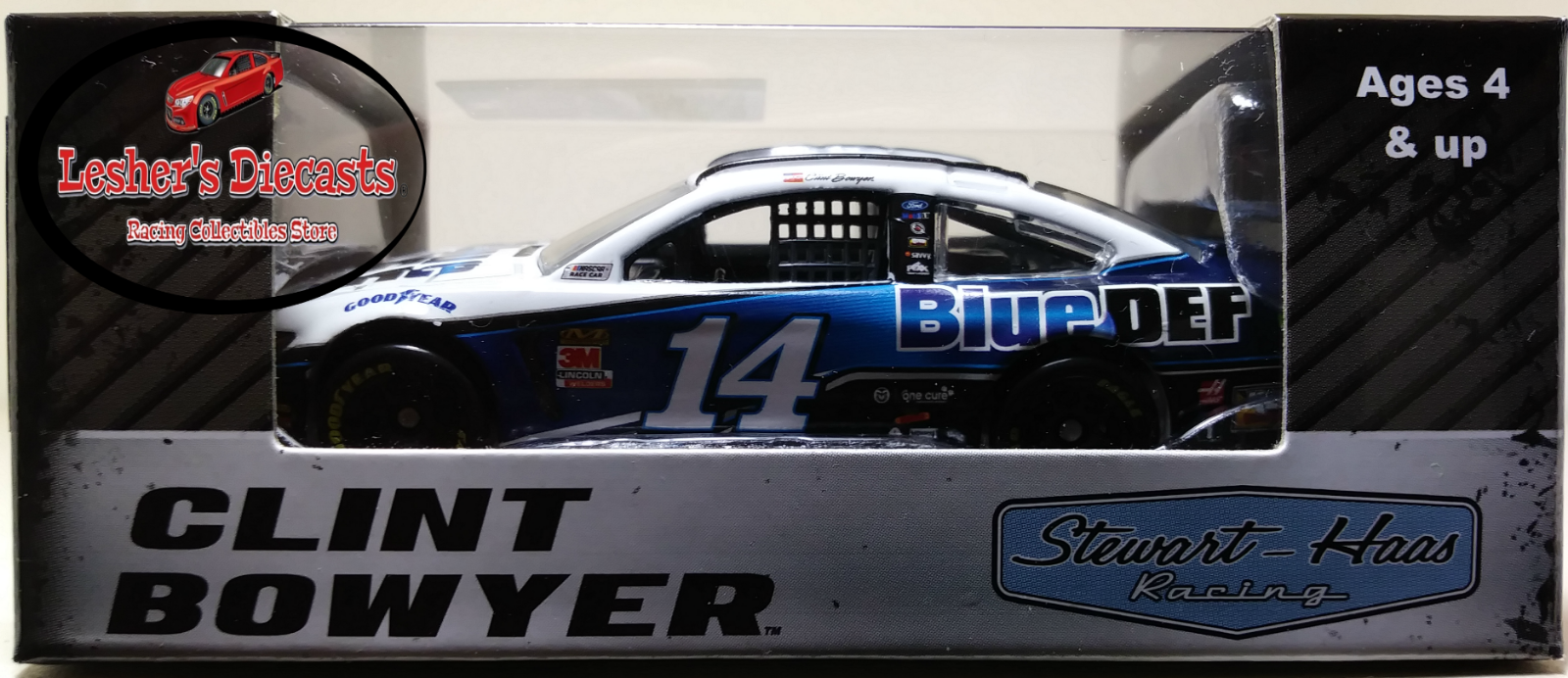 Clint Bowyer 2019 #14 Peak Blue Def Ford Mustang 1:64 ARC -