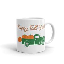 New Mug - Happy Fall Y'all Autumn Pumpkin Truck coffee Mug fall - $10.99+