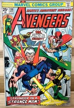 THE AVENGERS #138 (1975) Marvel Comics VG - $9.89