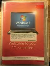 Windows 7 Professional 64 bit Software CD Windows Anytime Upgrade No Pro... - $12.19