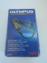 Olympus quick charger L1-10c - $17.99