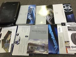 2006 Mercedes Benz C Class Models Owners Operators Manual Set Kit W Case Oem - $89.09