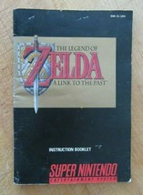 The Legend of Zelda A Link to the Past Super Nintendo Video Game Manual - $12.86
