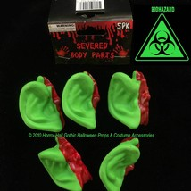 Toxic Zombie Leprechaun GREEN SEVERED EARS Body Parts Mad Scientist Lab ... - $3.69