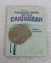 Treasure Coins of the Caribbean Souvenir Silver Cobs History in Replica - $19.79