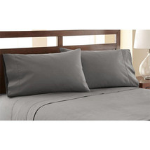 Symphony by Pacific Coast Textiles FULL Sheet Set Egyptian Cotton Charcoal - $25.99