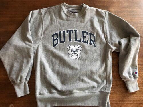 Champion Butler Bulldogs Crewneck Sweatshirt sz S Reverse Weave  Mint