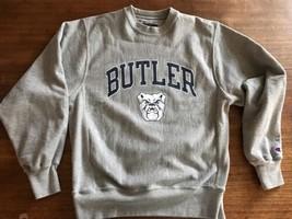 Champion Butler Bulldogs Crewneck Sweatshirt sz S Reverse Weave  Mint - $33.24