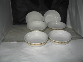 (6) Gibson Snowman Frolic Christmas CEREAL SOUP BOWLS Debi Hron - $15.00