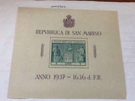 San Marino Independence Monument s/s mnh 1937  stamps - $19.95