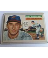 1956 Topps #133 Ray Narleski : Cleveland Indians - $11.35