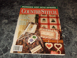 Country Stitch Magazine March/April 1992 Cookie Cutter - $0.99
