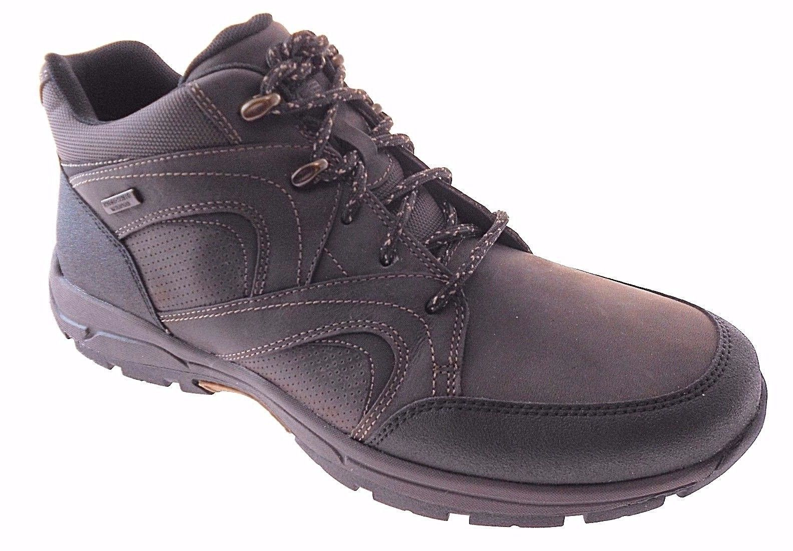 ROCKPORT ROAD&TRAIL WP MDGD MEN'S BROWN WATERPROOF BOOTS SZ 11, H79511 -  $103.99