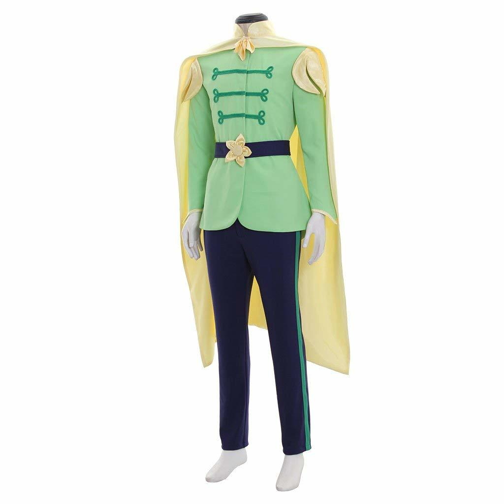 Prince Naveen Costume Men Suit Halloween Party Outfit Custom Any Size image 5