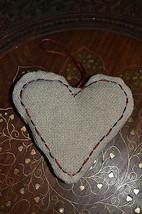 Handmade Soft Pillow Heart, Christmas Tree Valentine's Decoration,Needle... - $5.00