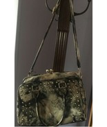 Multi Colored Animal Print Boutique Satchel Bag  - $125.00