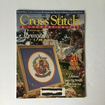 Cross Stitch & Country Crafts Magazine March April 1994 Easter Spring - $4.94