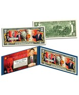 XI JINPING * President of China * Colorized $2 Bill U.S. Genuine Legal T... - $314,69 MXN