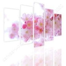 CANVAS (Rolled) Japanese Cherry Trees Split 5 Panels 5 Panels Paintings - $27.24+