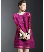 Women's Pleated Mesh Dress - $56.02