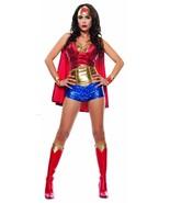 Starline Wonder Lady Woman Adult Comic Book Super Hero Halloween Costume... - £56.16 GBP