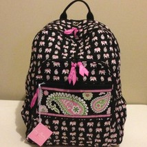 NWT Vera Bradley Large Campus Backpack in Pink ... - $59.35