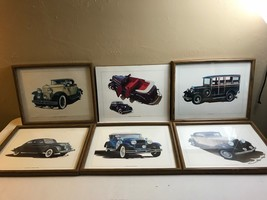 CAR PRINTS FRAMED CHRYSLER DODGE DESOTO HUDSON ESSEX DIFAZIO LAMONTAGNE ... - $72.57