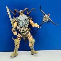 Mcfarlane Curse Spawn action figure toy 1999 Zeus gray beard complete vt... - $24.70