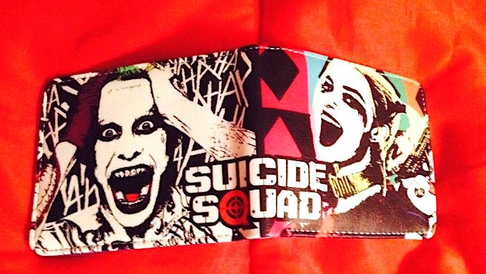 D.C. Comics Suicide Squad Harley Quinn Bilfold Wallet—More Character Wallets Too