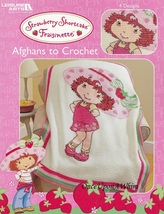 Strawberry Shortcake Fraisinette Afghans, Leisure Arts Crochet Pattern Book 3848 - $24.95
