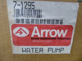 7-1295 GM Water Pump Remanufactured By Arrow 231887 image 2