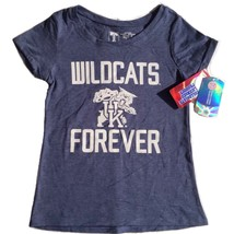 Kentucky Wildcats Girl's University T S Cotton Blend Heathered Forever T... - €10,64 EUR