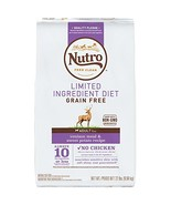 Nutro Limited Ingredient Diet Adult Dry Dog Food Venison Meal & Sweet Po... - $57.51