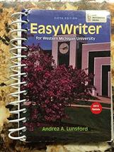 Easy Writer for Western Michigan University [Spiral-bound] [Jan 01, 2016] Andrea