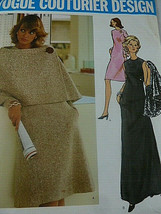 Vogue Couturier Design 2739 Sybil Connolly sz 16 UNCUT - $24.74