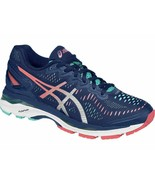 ASICS Women's Gel-Kayano 23 Running Shoe 10 Poseidon/Silver/Cockatoo - $198.00
